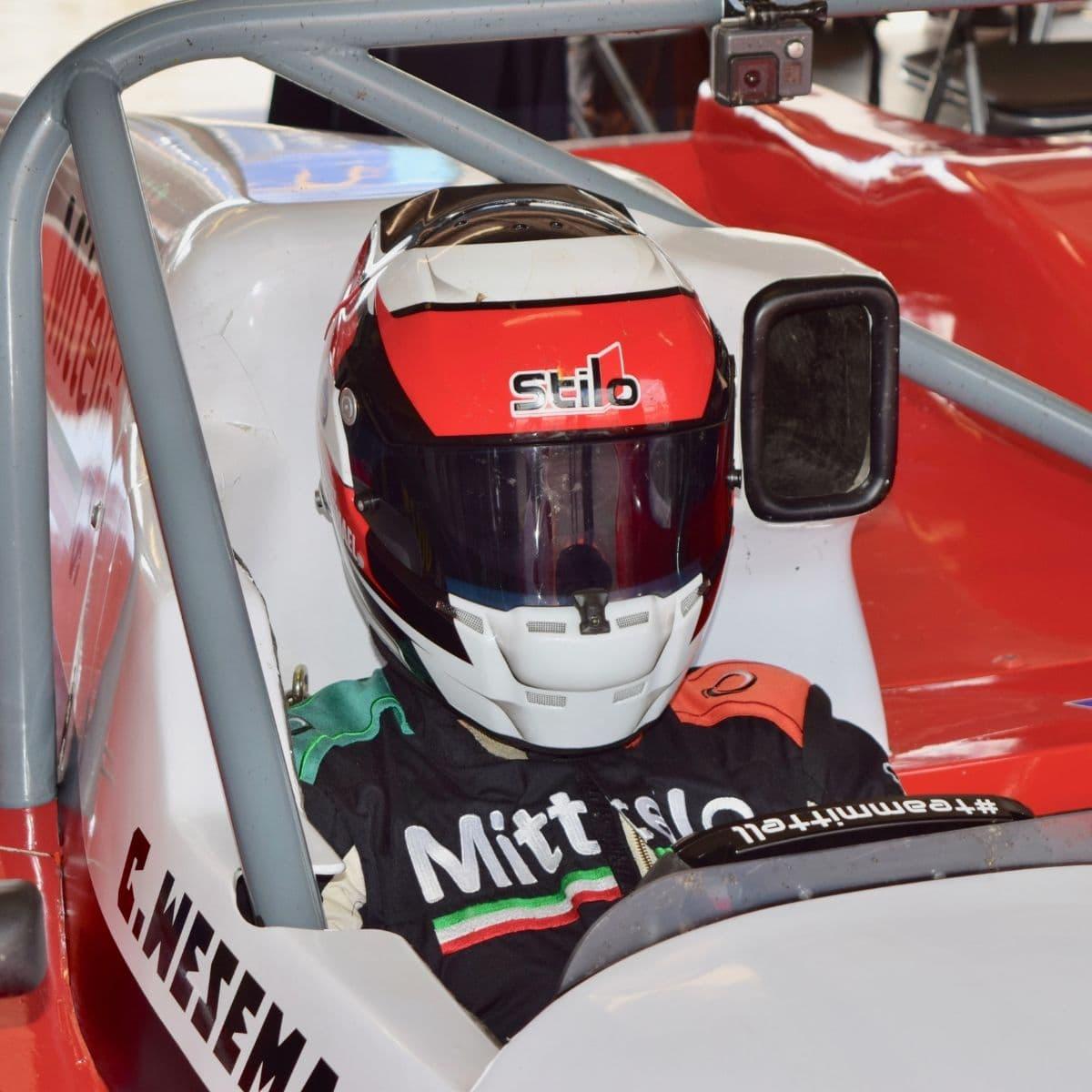 Chris Wesemael Donington Garage 2